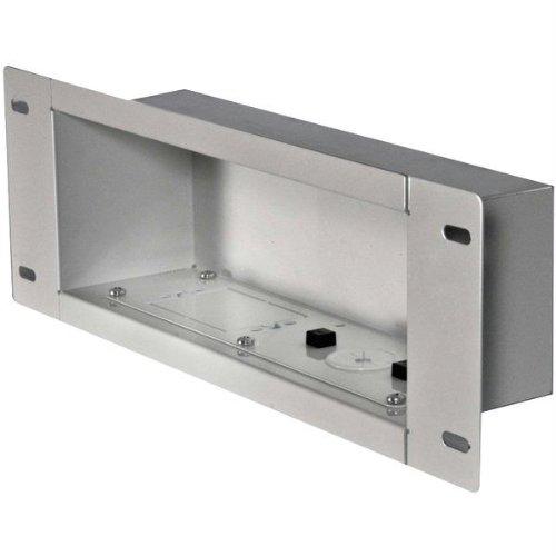 Medium In Wall Box - Peerless Industries Peerless Iba3-W In-Wall Metal Box With Knock Out (Medium)