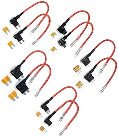 Street Guardian SGDCHW SG9663DCPRO Hardwire Kit Complete with All Fuse Tap Sizes