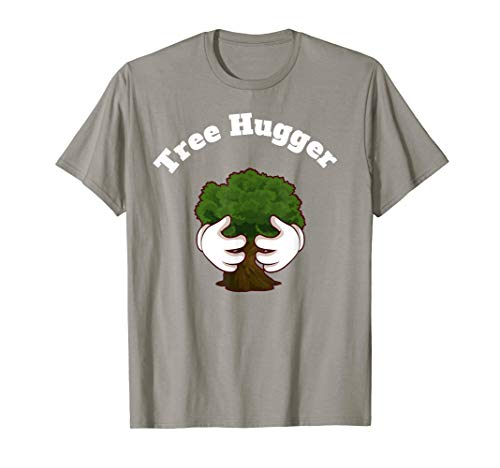 (Tree Hugger Nature Lover Hippie Novelty T Shirt)