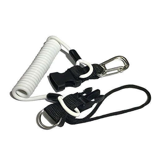 Water Pro Diving Hook Lanyard Stainless Steel Wire Rope with Ring by Water Pro