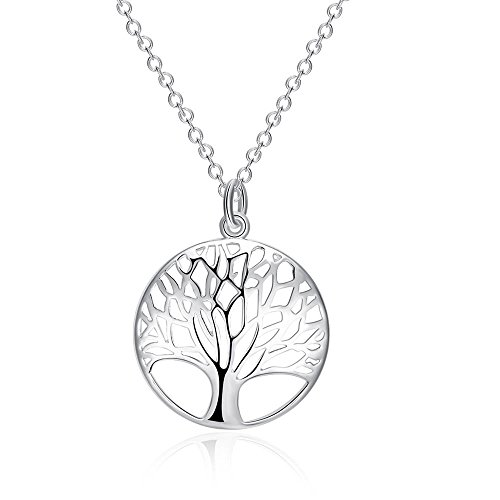 The Hollow Tree Shape Necklace For Women