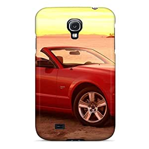 New Fashion Premium Tpu Case Cover For Galaxy S4 - Ford Mustang Gt Convertible 2005