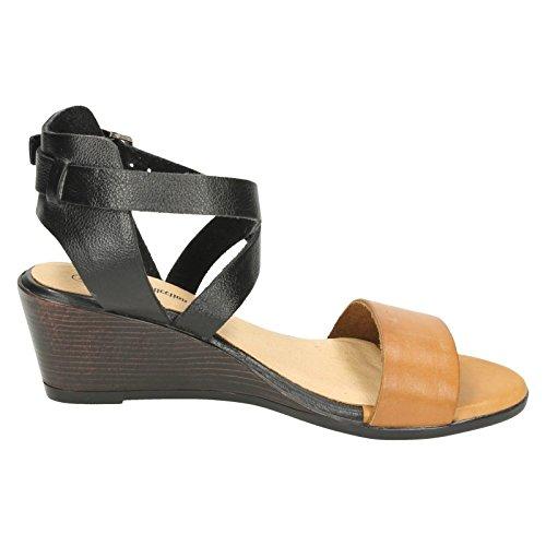 Damen Tan Leder Open Toe Beige Sandalen Kollektion 5Bppqn80