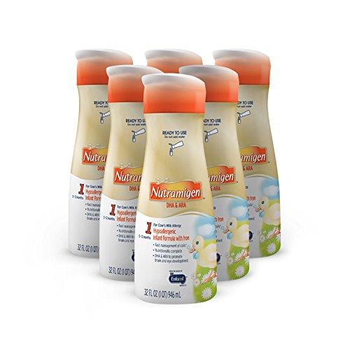 Enfamil Nutramigen Infant Formula, Ready to Use, 32 Fluid...