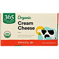 365 Everyday Value, Organic Cream Cheese, 8 oz
