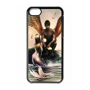 Iphone 5C Little mermaid Phone Back Case Custom Art Print Design Hard Shell Protection MN064538