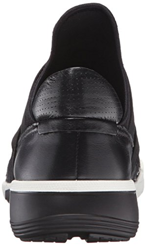 Ecco Womens Intrinsic 2 Band Fashion Sneaker Bianco / Nero