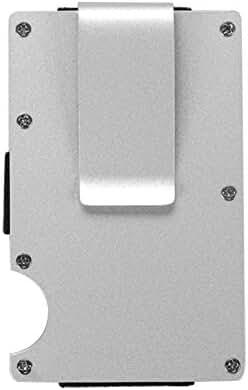 bjduck99 Portable Blocking Metal Credit Cards Holder Case Organizer Money Clip