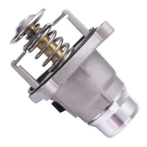 TUPARTS 902-817 11537586885 Engine Coolant Thermostat Housing fit for 2002-2005 BMW 745i/745Li,2004-2005 BMW 545i/645Ci,2004-2006 BMW 760i,2003-2008 BMW 760Li