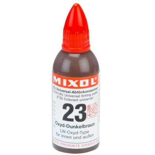 Mixol Universal Tints, Oxide Dark Brown, #23, 20 ml (Universal Tint)