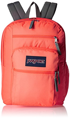 jansport-digibreak-coral-sparkle-white-dots-backpack