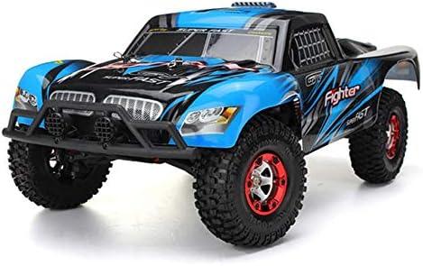 Pinjeer 40Km / h 1/12 2.4G 4WD de Carga Corta del Coche RC Control Remoto Modelo de vehículo Vehículo de Juguete Azul/Rojo Regalos para niños 8+ (Color ...