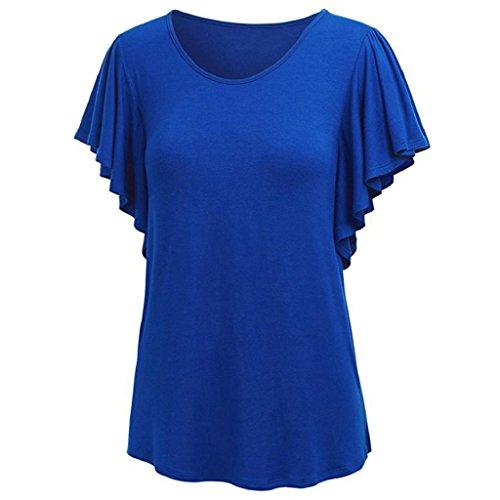 POLYHYMNIA - Camisas - para mujer Azul Zafiro