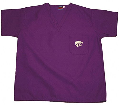 Kansas State Purple Scrubs Top - Small - Kansas Collegiate Scrub Shopping Results