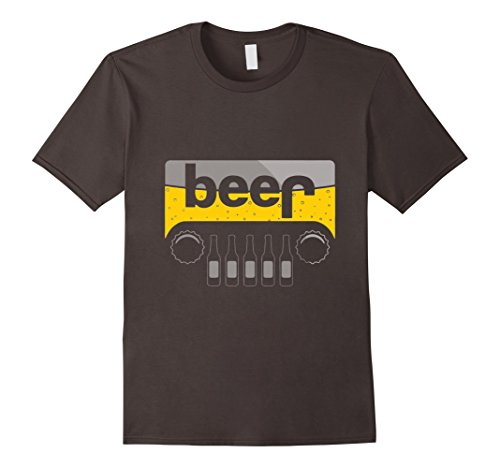 Men's Jeep beer T-shirt XL (Beer Jeep Tshirt)