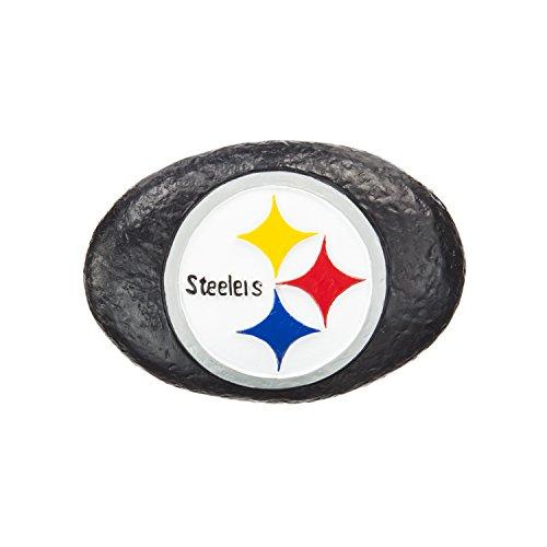 Team Sports America Pittsburgh Steelers Your Team Rocks Team Logo Garden - Rock Steelers