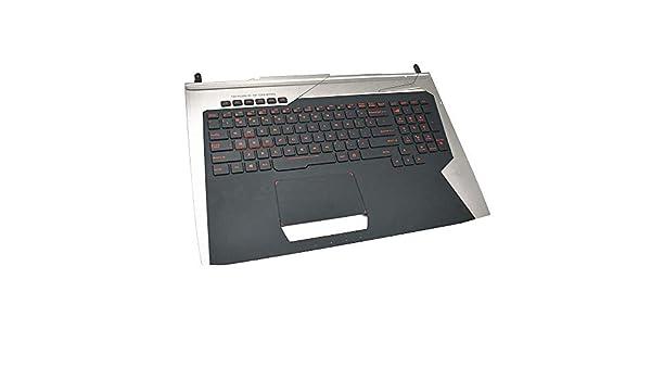 ASUS G752VL G752VT G752VY G752VS G752VM US Keyboard Upper Cover Palmrest Backlit
