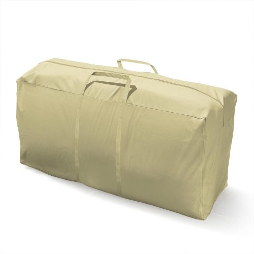 Mr. Bar-B-Q Backyard Basics Eco-Cover PVC Free Double Cushion Storage Bag
