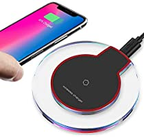 OP1 Updated Wireless Charger Qi Wireless Charger Pad Compatible with ¡Phone Xs MAX XR X 8 8 Plus 7 7 Plus 6s 6s Plus 6 6...