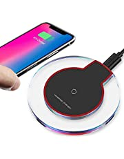 NVB-01 Updated Wireless Charger Qi Wireless Charger Pad Compatible with ¡Phone Xs MAX XR X 8 8 Plus 7 7 Plus 6s 6s Plus 6 6 Plus and More