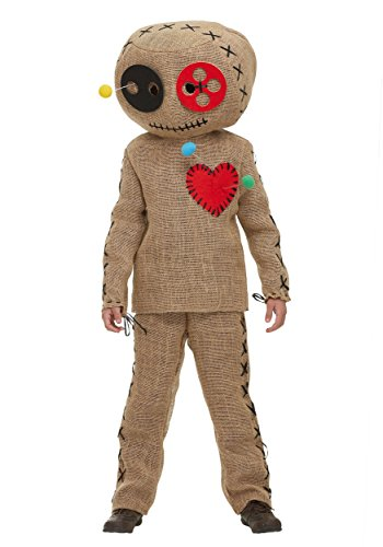 Fun Costumes Child Burlap Voodoo Doll Costume Large (12-14)