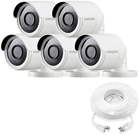 Samsung Wisenet SDC-89440BB-5PK – 4MP Weatherproof Bullet Camera 5-Pack Compatible with SDH-C85100BF