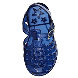 Stepping Stones Boys Fisherman Style Jelly Sandals Boys Blue Sandals Baby Boys Sandals Sizes 4 Infant
