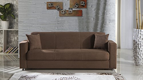 Tokyo Obsession Truffle Convertible Sofa Bed by Sunset