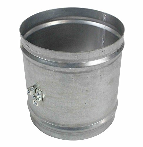 Aluminum Coupler for Explosion Proof Ventilation Fan Ducts by Larson Electronics