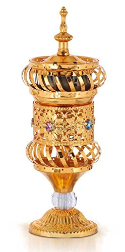 Arab Middle East Incense Holder Burner Sultan's Jewels Goblet Home (Arab Sultan)