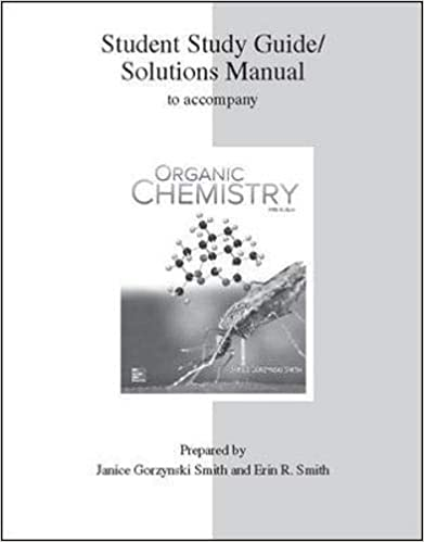 Study Guide Solutions Manual For Organic