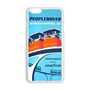 Futefew Mobile Phone Shell People Mover Vintage Poster Pattern Case for Iphone6 Plus 5.5