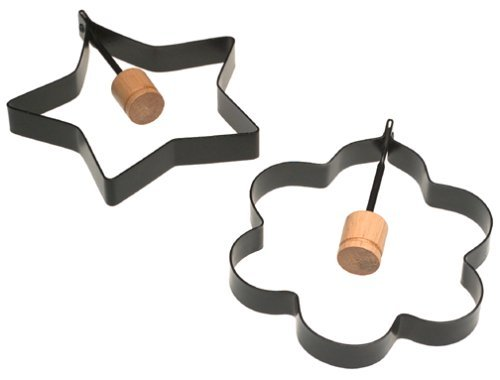 Norpro-Nonstick-Star-and-Flower-Pancake-Egg-Rings-Set-of-2