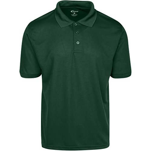 Mens Hunter Green Drifit Polo Shirt XXXL
