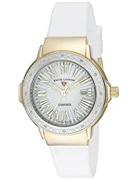 Swiss Legend Women's 'South Beach' Quartz Stainless Steel Casual Watch (Model: 20032DSM-YG-02-SB-WHT)