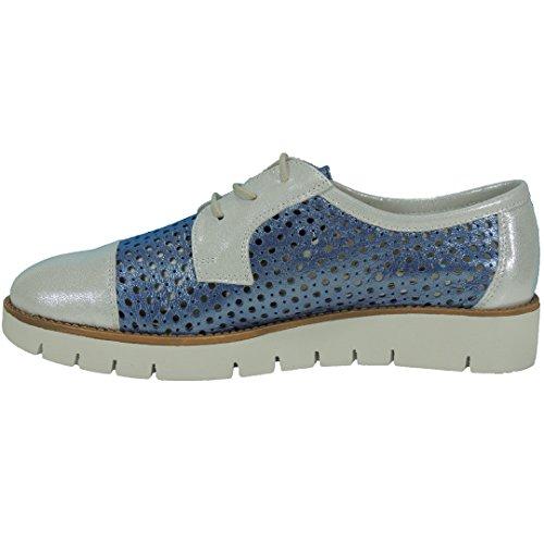 Pour Lacets Romero de Bleu Ville Femme Chaussures Calzados à Zgq61nvw