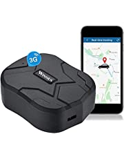 3G GPS Tracker, GPS Tracker for Vehicles, Real-time Tracking 150 Days Standby,Anti-Lost GPS Locator
