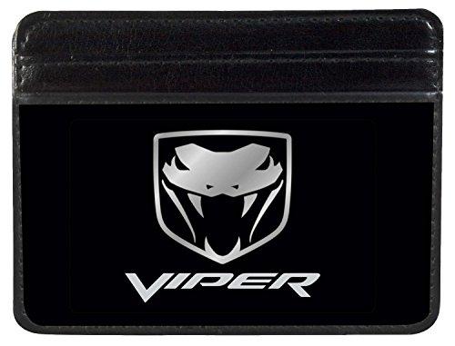 dodge-automobile-company-silver-viper-logo-weekend-wallet