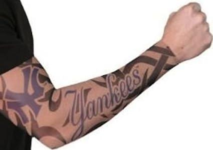 Amazon.com : Sports Farm New! Youth New York Yankees Tribal Tattoo ...