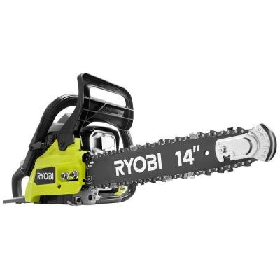 Ryobi 14 in. 37cc 2-Cycle Gas Chainsaw