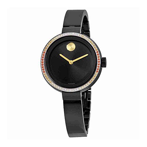 Movado Bold Diamond Black Ladies Watch 3600283