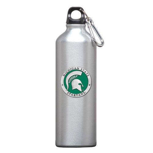 1pc, Pewter Michigan State University Water Bottle