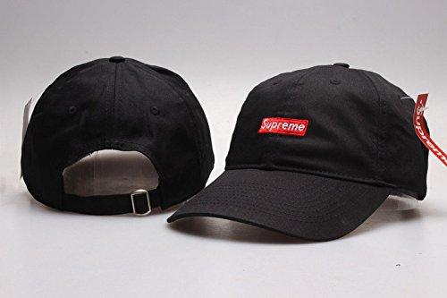 80abba3db97 Supreme Baycik Snap Back Black Fashion Adjustable Hat  Amazon.co.uk   Clothing