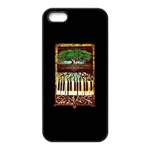 The Piano Tree iPhone 5 5s Cell Phone Case Black MHG7041654