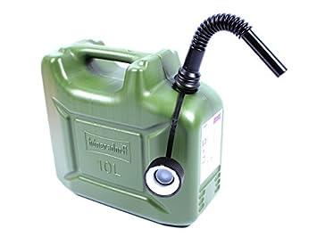 Benzinkanister 10 Liter Kraftstoff Reserve Kanister mit UN Zulassung