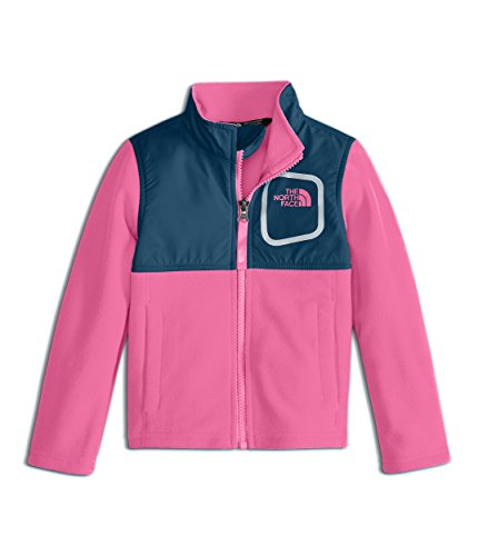 Jacket Gem (The North Face Toddler Girl's Glacier Track Jacket - Gem Pink - 4T)