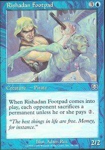 Magic: the Gathering - Rishadan Footpad - Mercadian Masques