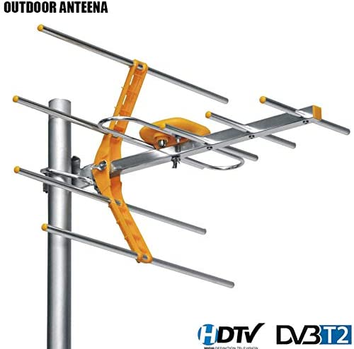 PinShang - Antena de TV Digital HD para Exterior amplificada ...