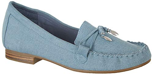Coral Bay Collections Womens Mya Loafers 6.5 Light ()