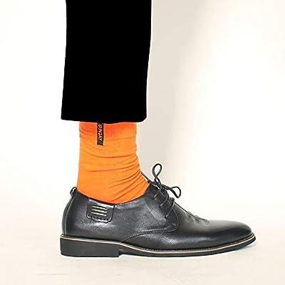 Cvthfyk Calcetines de otoño e Invierno para Hombre Calcetines de ...